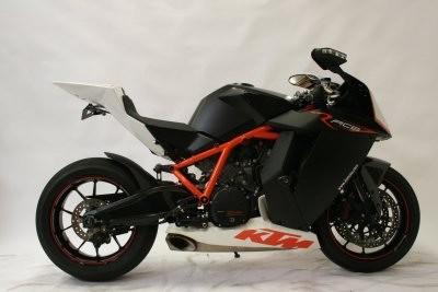 R&G Crash Protectors - Aero Style for KTM RC8R '09-
