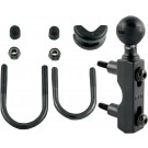 """RAM MOUNT COMBINATION BASE FOR HANDLEBAR OR RESERVOIR WITH 1"""" BALL"""