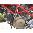 LSL kukkumispunnide kinnituskomplekt Ducati Hypermotard (all)