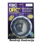 DRCF Carbon Fiber Clutch Kit EBC-DRCF148
