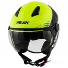Demi-jet helmet HEVIK NAUTILUS Yellow / White