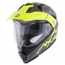 Full-face helmet HEVIK MONTAUK Grey / Yellow