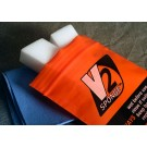 Helmet visor cleaning set The incredible V2 Sponge