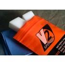 Helmet visor cleaning set The incredible V2 Sponge