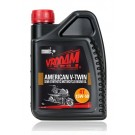 Vrooam American V-Twin Semi-Synthetic Motorcycle Engine Oil 15W-50 1L