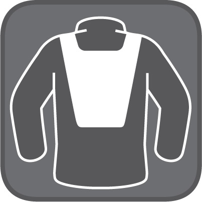 Vision vest prepared